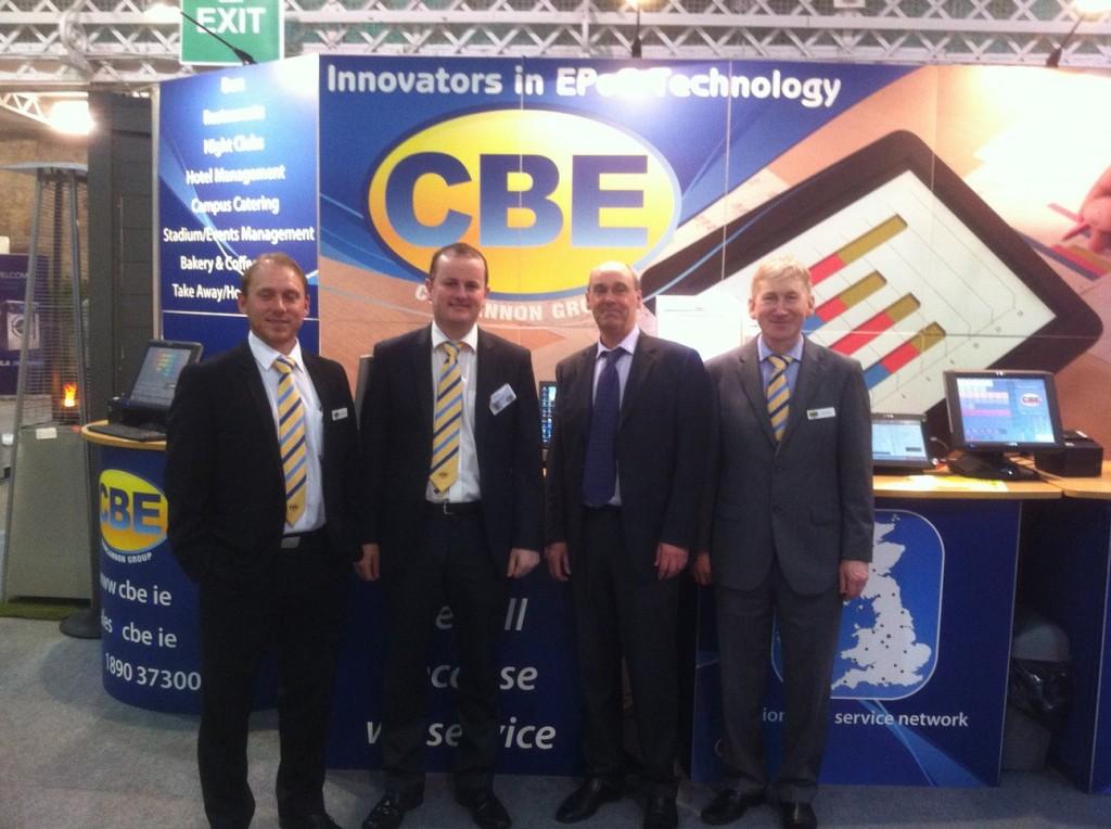 The CBE Team at Hospitality Expo 2014