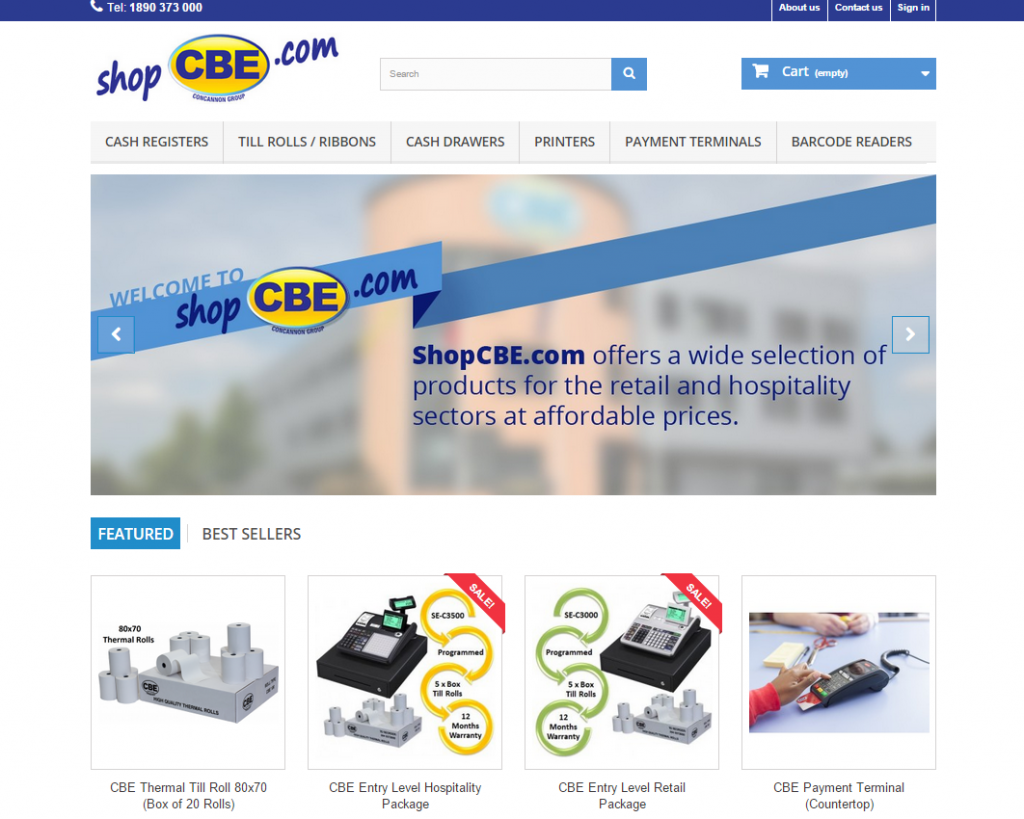 ShopCBE Website
