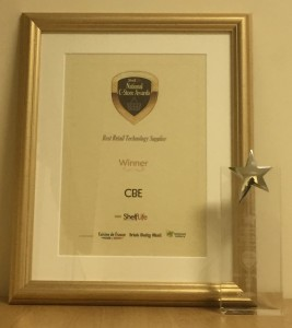 'Best Retail Technology Supplier' Award