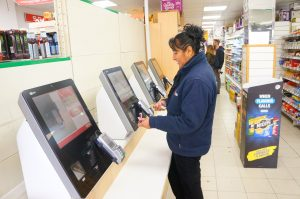 Card Only Self-Checkouts at SPAR Lancaster University