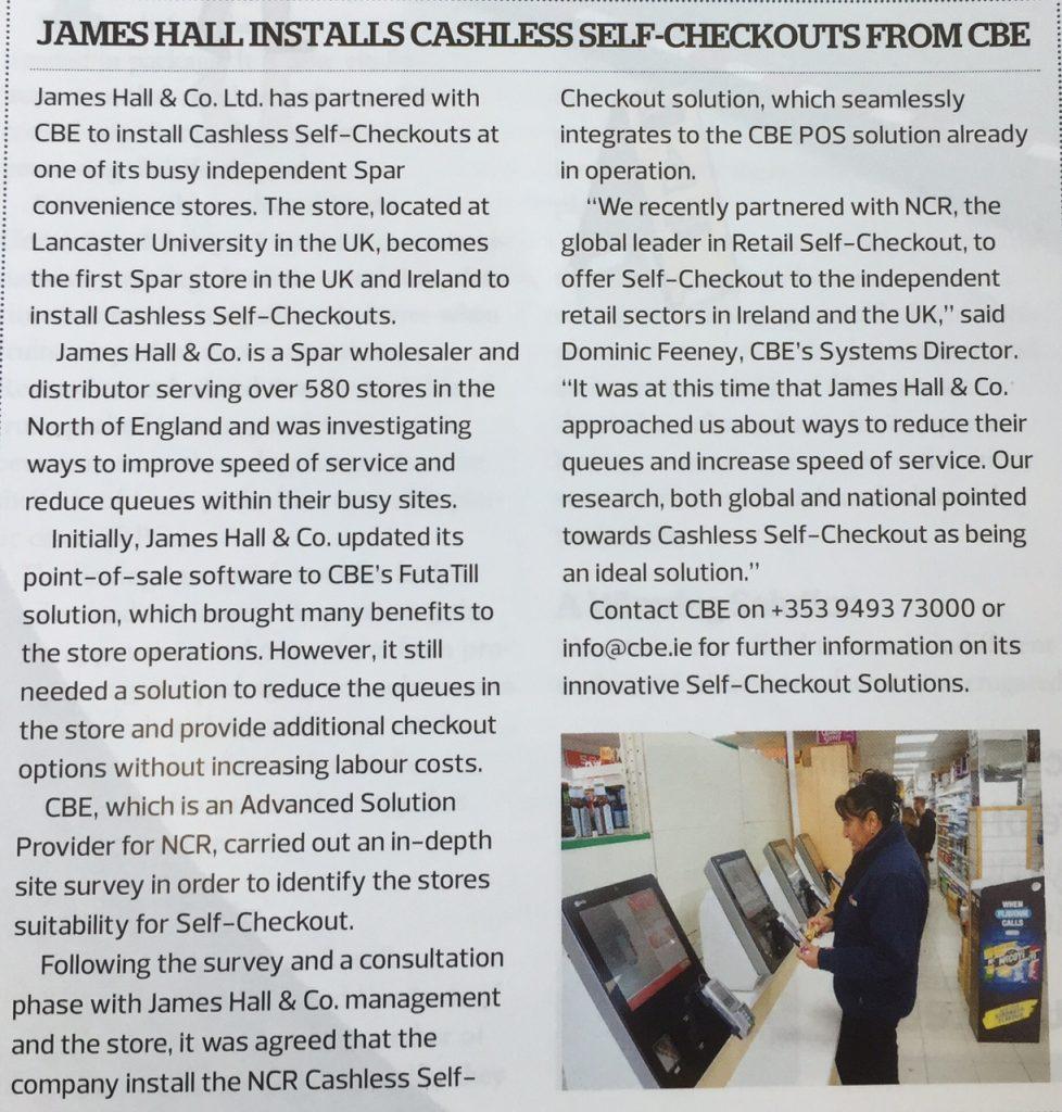 CBE piece in ESM Issue 4 2016