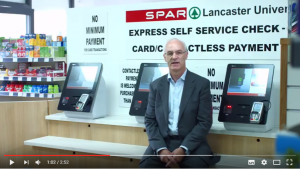 Click the image to view the CBE/NCR Cashless SCO Video at SPAR Lancaster University