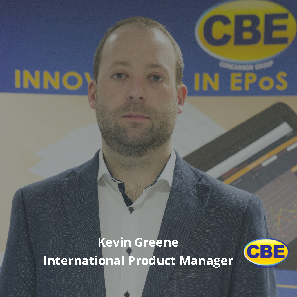 Kevin Greene – International Product Manager – CBE