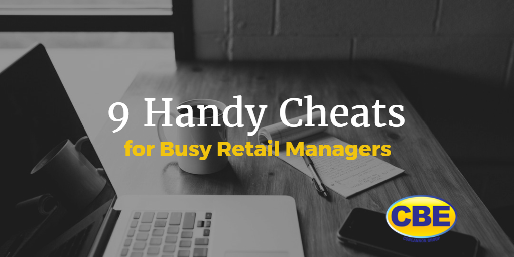 Retail Managers Cheat Sheet
