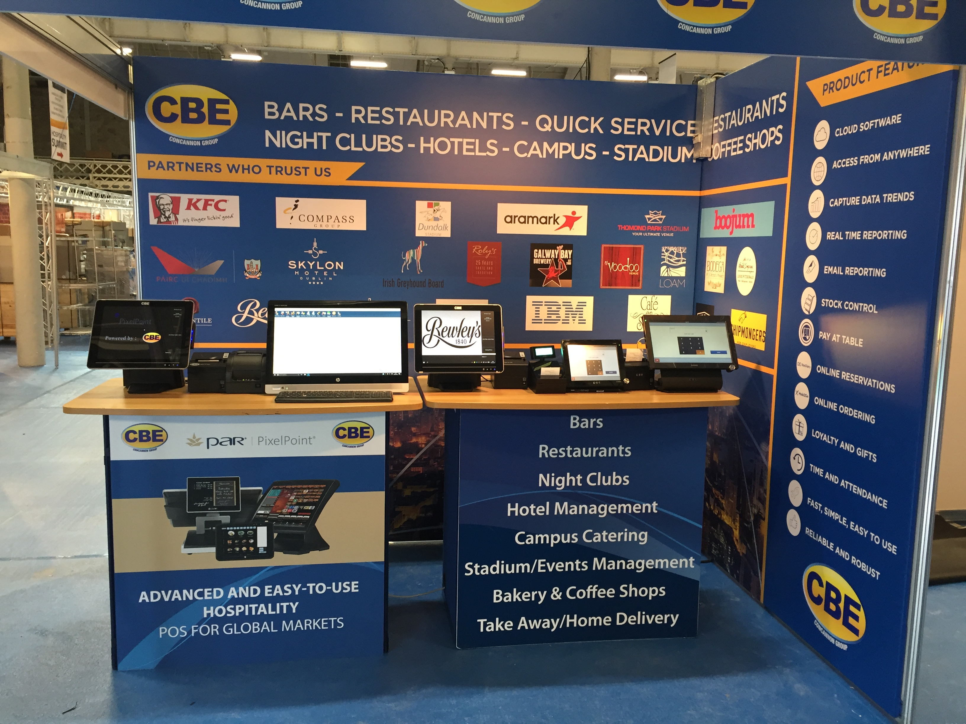 Hospitality Expo Stand 1