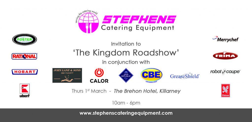 Kingdom Roasdshow Invite 18 – Front