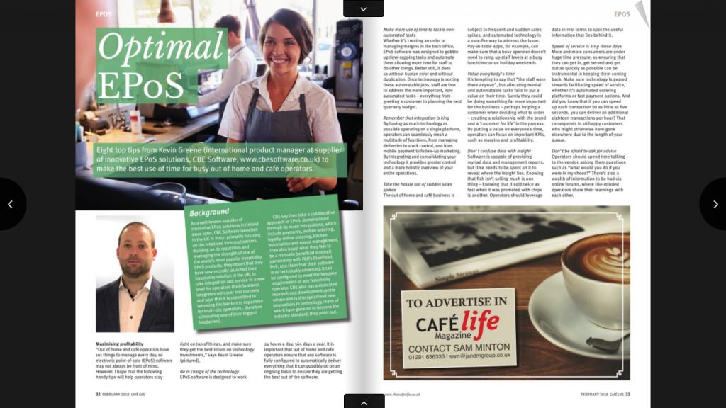 Cafe Life Magazine February 2018