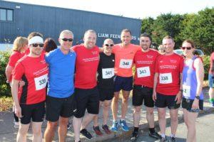 CBE team participates in 5k fun run for ISPCC