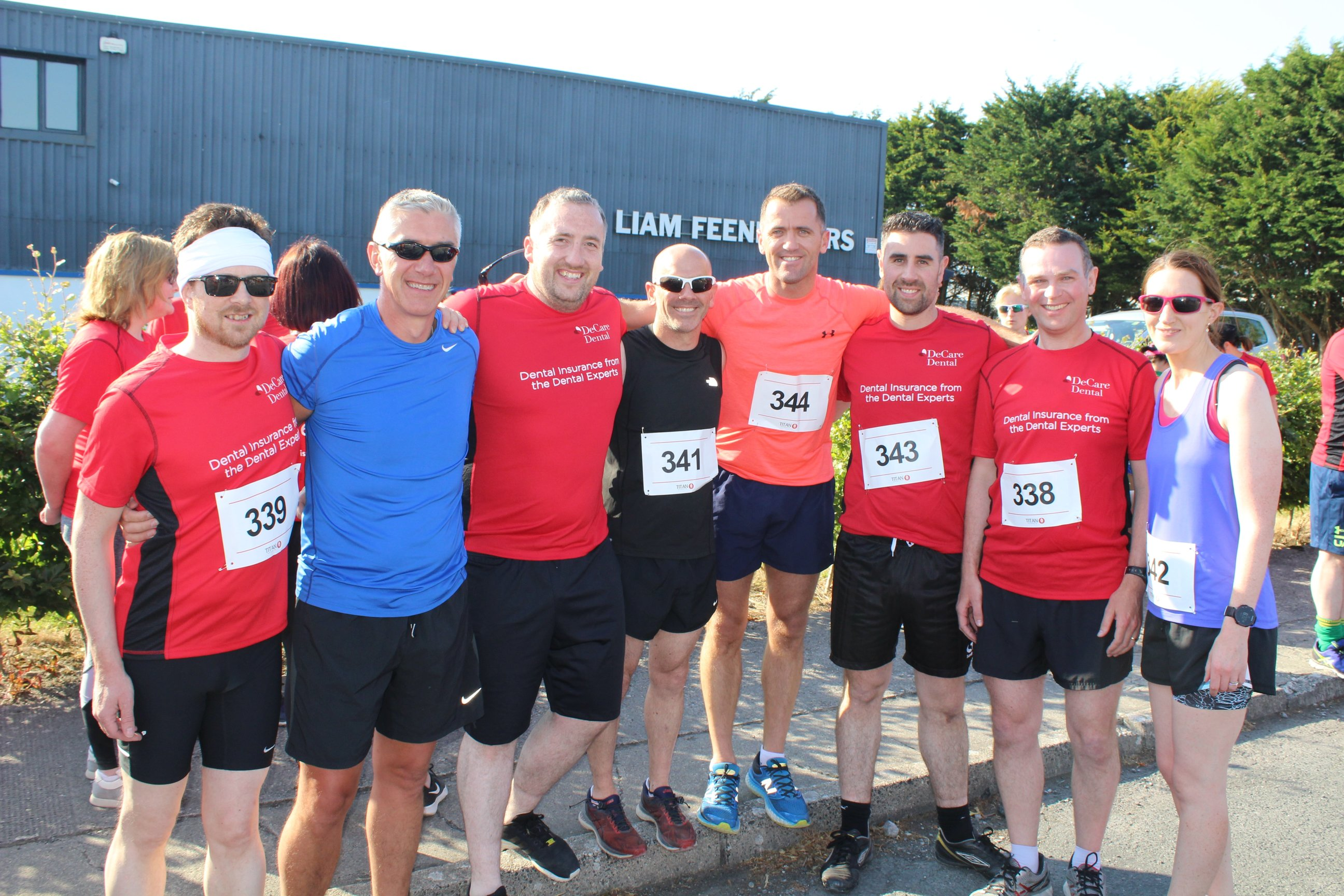 CBE Team at the 5k fun run