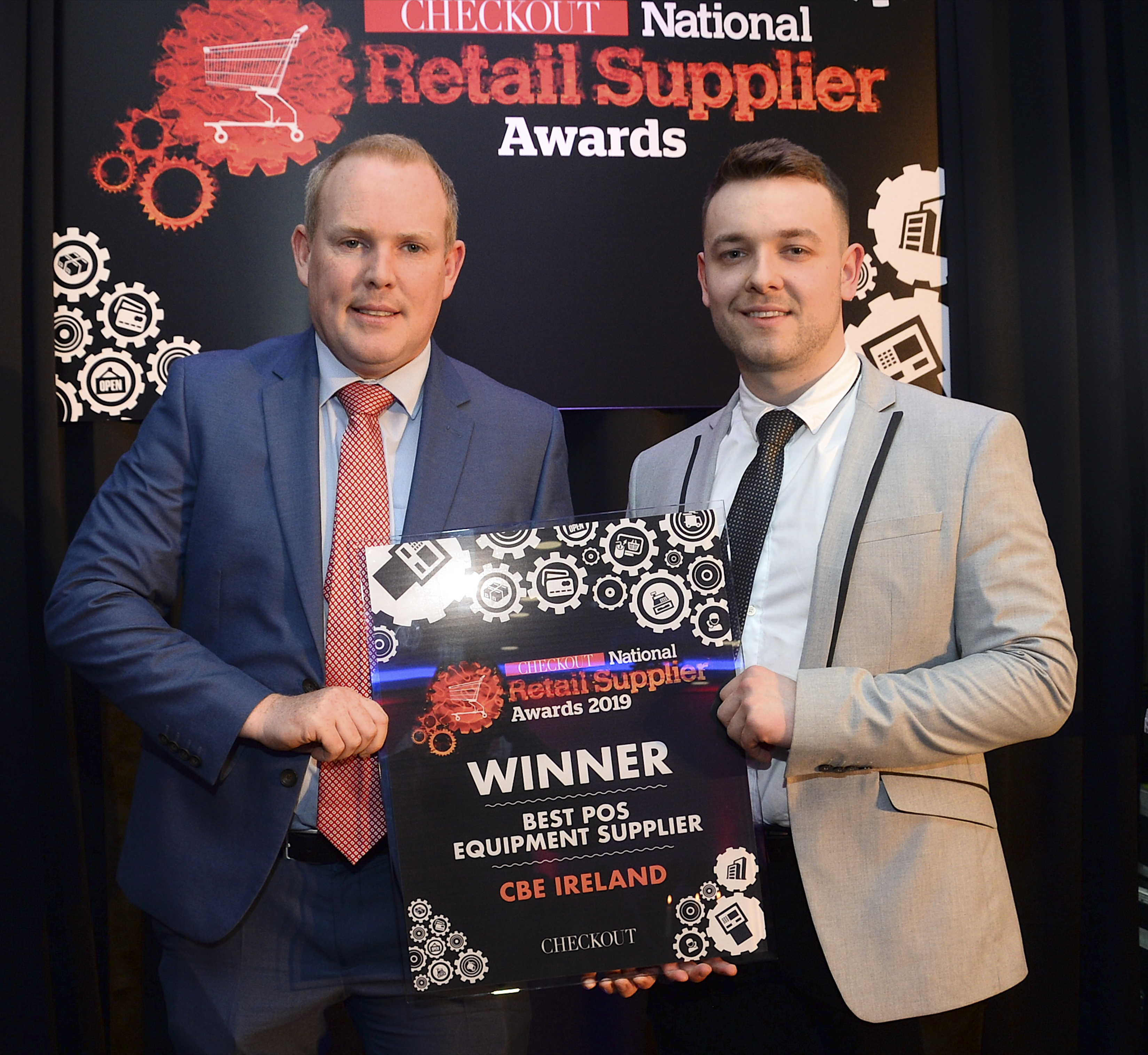 CBE win 'Best POS Equipment Supplier' Award