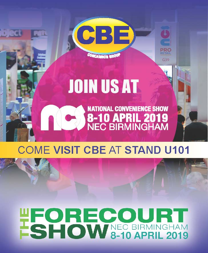 Visit CBE at the NCS 2019
