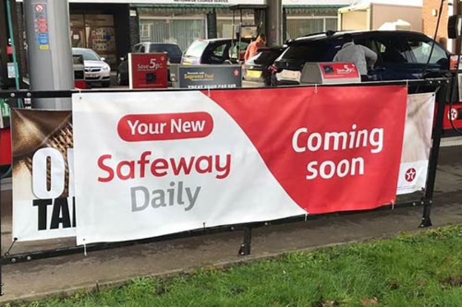 CBE are part of the UK's first Safeway Daily store