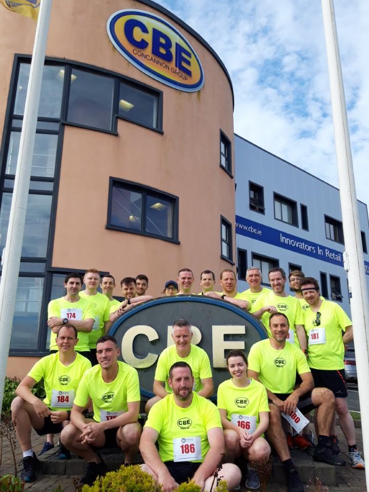CBE colleagues take part in DeCare Dental 5km run