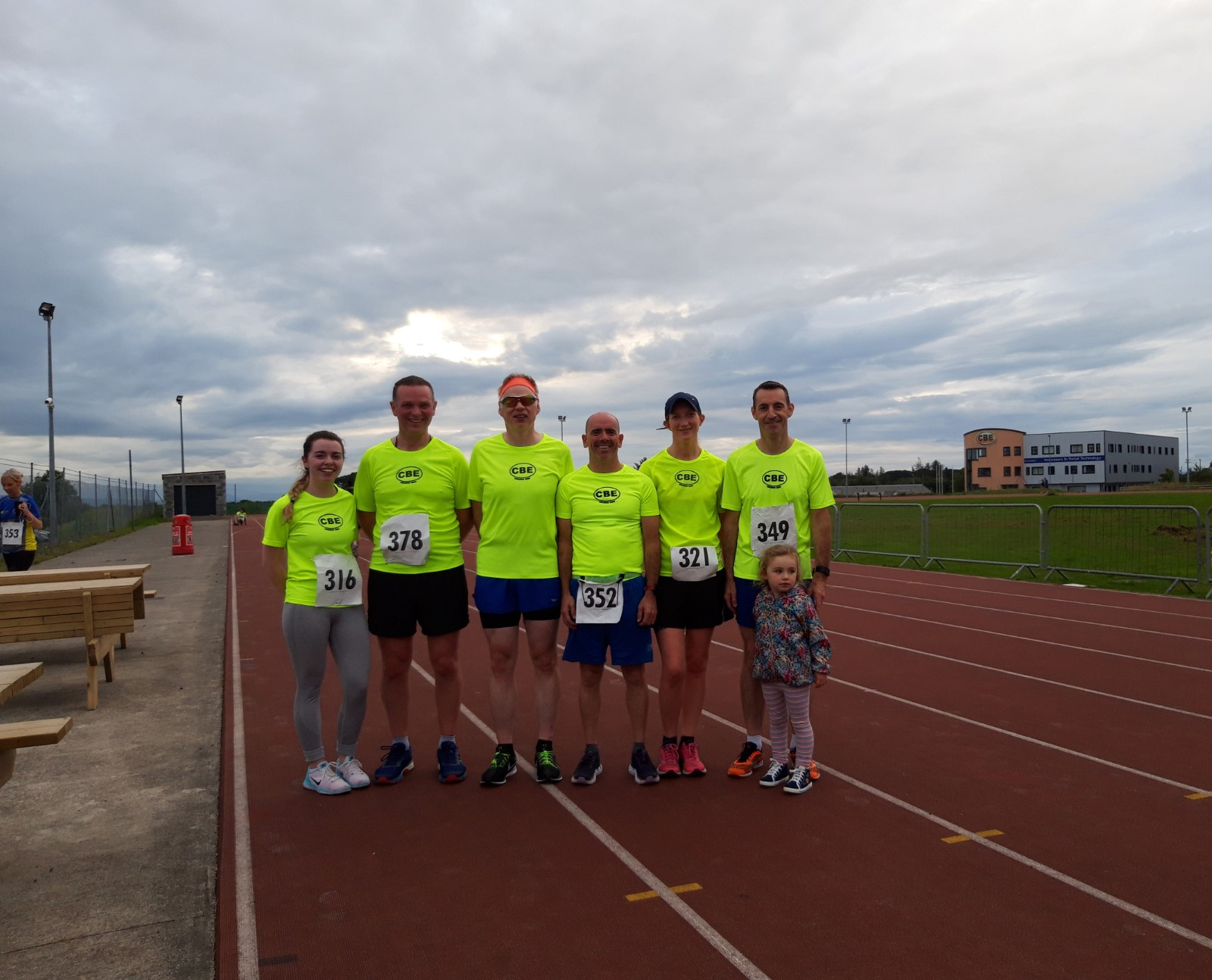 CBE colleagues take part in annual Tom Waldron 5k run for Protect the Children