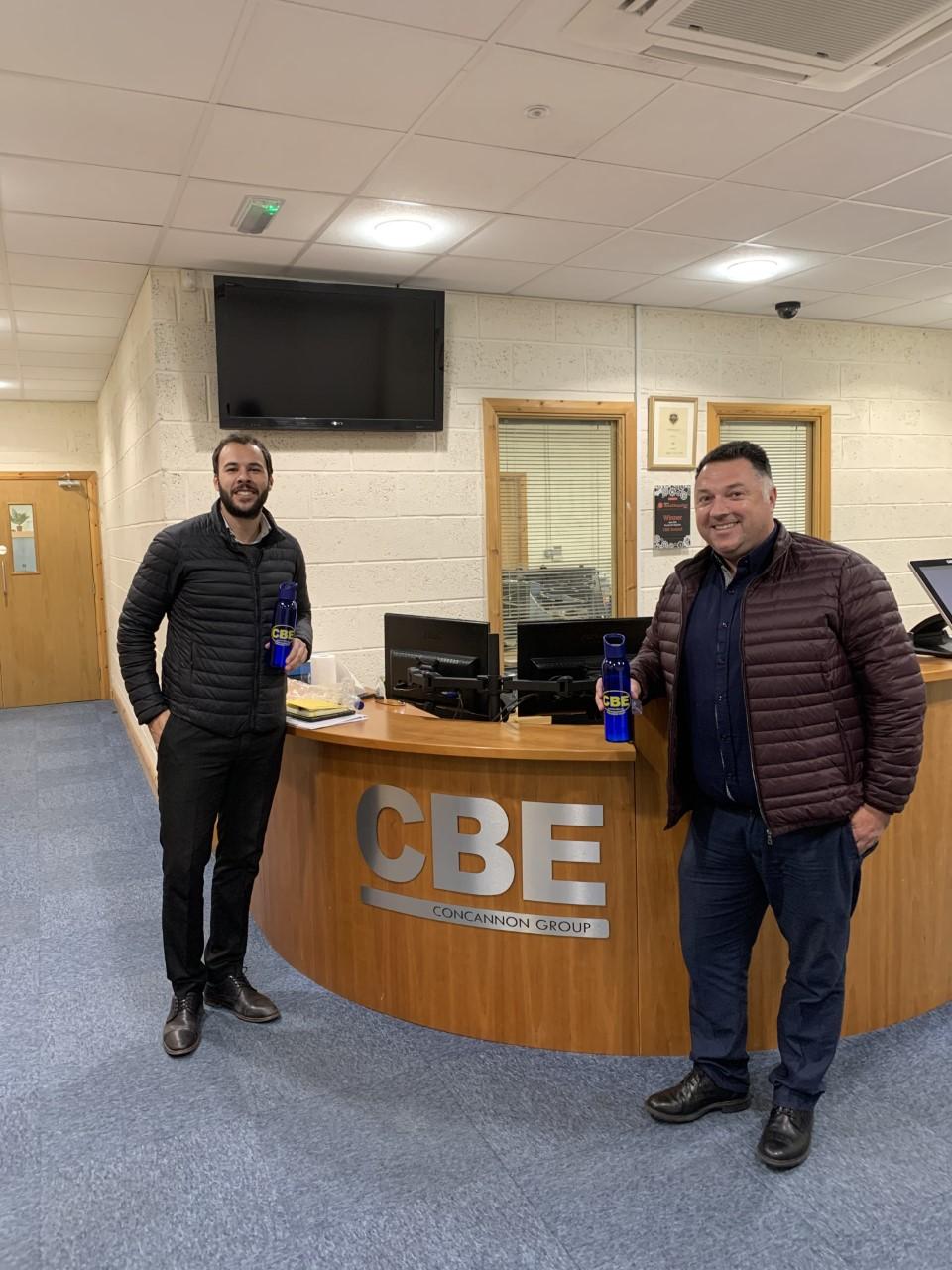 ACS visits CBE