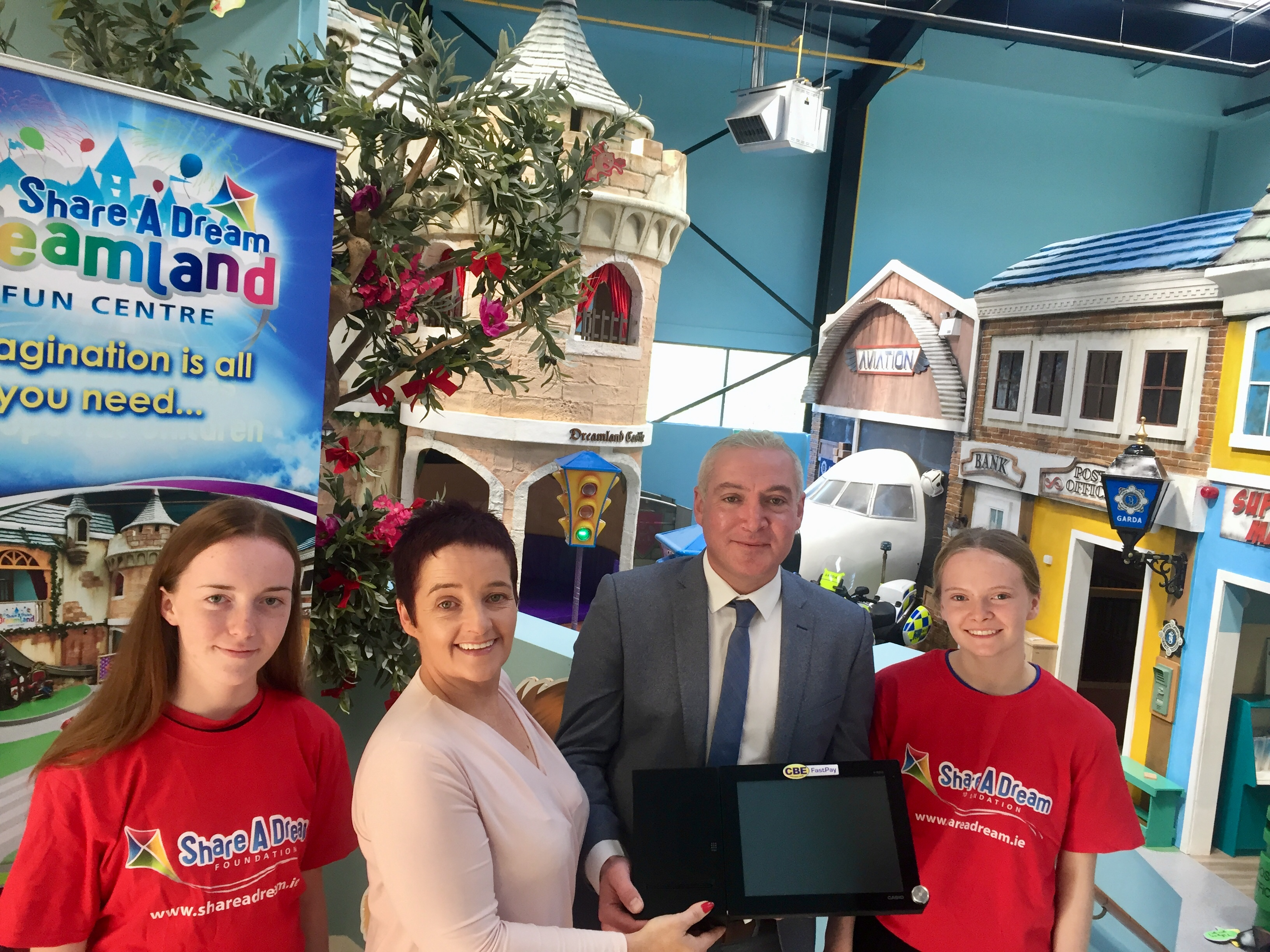 CBE donate replacement EPoS unit to Limerick Charity