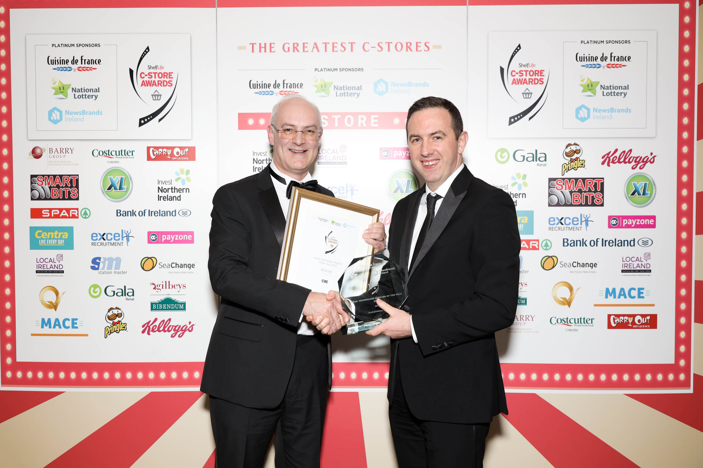 CBE win 'Retail Technology Supplier Of The Year' Award
