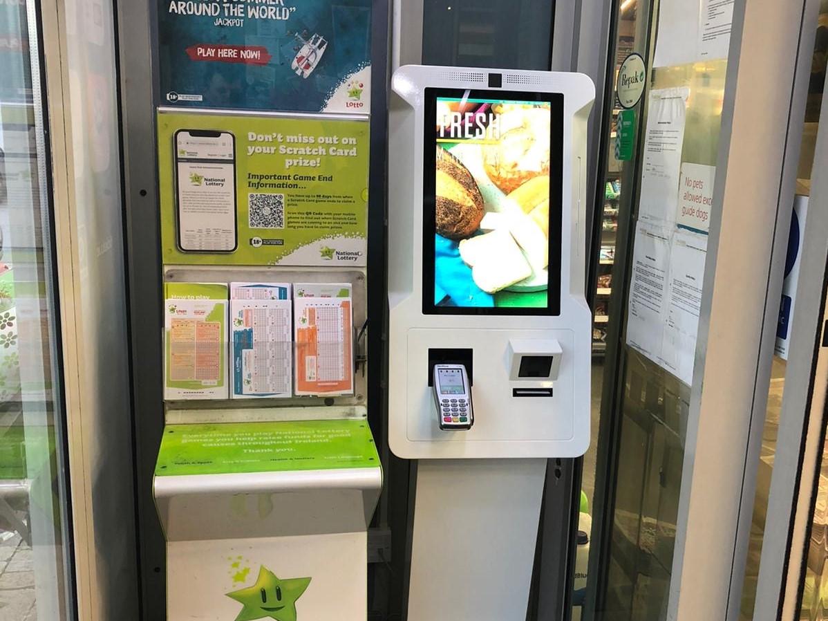 Centra Edenderry install CBE's Service Kiosk